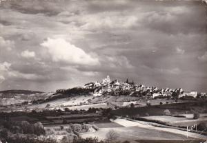 France Vezelay Vue generale cote Ouest