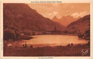 France Les Plus Beaux Sites des Alpes, Le Lac du lauzet Lake Panorama
