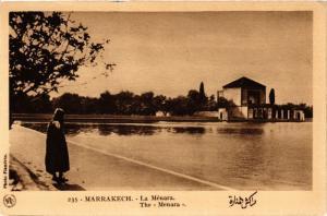CPA Marrakech- La Menara MAROC (796510)