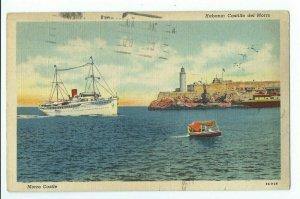 Postcard 1940 Morro Castle Habana: Castillo Del Morro VPCO1.