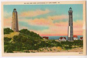 Old & New Lighthouse, Cape Henry VA