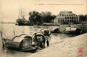 CPA AK INDOCHINA Saigon La Pointe des Blagueurs VIETNAM (957087)