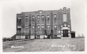 ASSINIBOIA, Saskatchewan, 1930-40s; Hospital