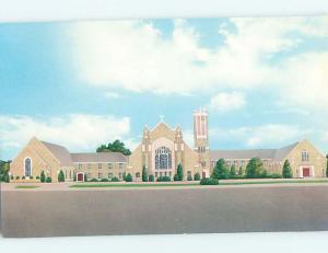 Unused Pre-1980 CHURCH SCENE Vernon Texas TX L3687