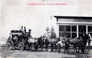 POLSON RAVALLI STAGE, FLATHEAD RESERVATION, MONTANA