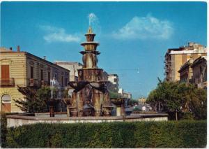 SAN SEVERO, Coronation Square, G. Matteotti Avenue, used Postcard