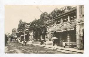 RP  Hindu Temple, Colombo, Ceylon, PU-1952