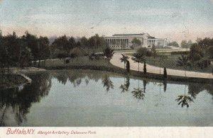 BUFFALO, New York, PU-1909; Albright Art Gallery, Delaware Park