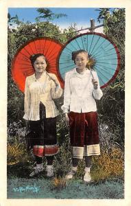 Vietnam, Viet Nam Jeunes Filles Laotiennes  Jeunes Filles Laotiennes