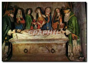 Modern Postcard Picturesque Cantal Salers Focus XV century tomb