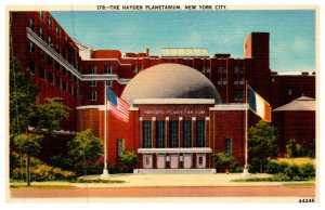 New York  City  , Hayden Planetarium