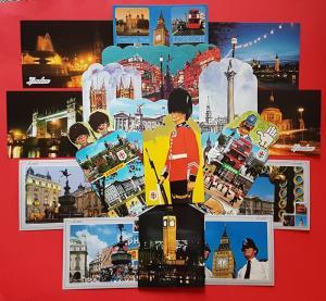London Postcards Lot of 30 Landmarks City Views Big Ben Buckingham Palace NEW