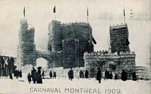 Canada - Quebec, Montreal. Carnaval Montreal, 1909