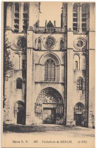 France, Cathedrale de SENLIS, unused Postcard