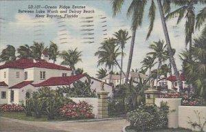 Florida Boynton Ocean Ridge Estates Between Lake Worth And Delray Beach
