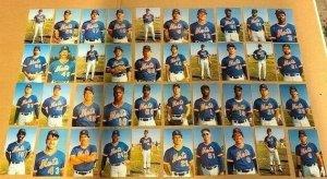 40 Postcards - 1984 New York METS Foster, Beane,Hernandez, Gooden, Strawberry