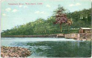 D/B Naugatuck River at Waterbury Connecticut CT 1911
