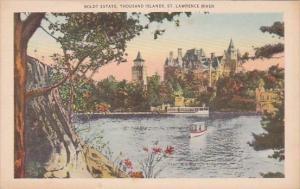Boldt Estate Thousand Islands Saint Lawrence River New York City New York