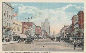 COLUMBIA , South Carolina , 1919 ; Main Street