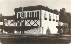 Dayton Washington~Dorsey's Restaurant & Embers Room Lounge~1950s B&W Postcard