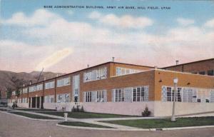 Base Administration Bldg , Army Air Base , HILL FIELD , Utah , 30-40s