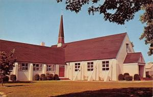 Selbyville Delaware~St Martins In The Field Episcopal Church~1950s Postcard