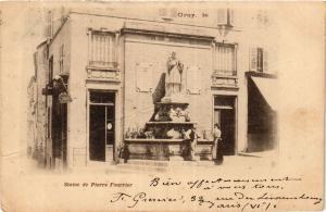 CPA GRAY le Statue de Pierre Fourrier (452299)