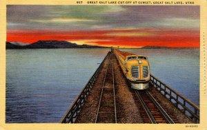 UT - Great Salt Lake Cutoff and Train