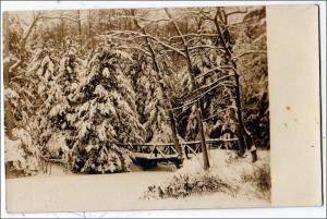 RPPC, Snow Scene ?