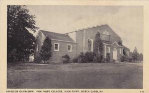 Exterior,  Harrison Gymnasium,  High Point College,  High Point,  North Carol...