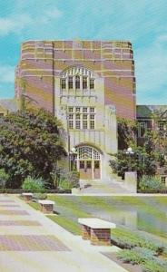 Indiana Lafayette Memorial Union Main Entrance Purdue University