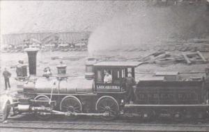 Lackawanna Railroad Locomotive No 4 At Honesdale Pennsylvania