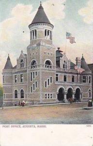 Maine Augusta Post Office