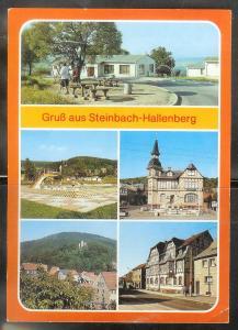 Germany, Steinbach-Hallenberg, unused