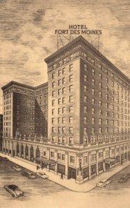Iowa Des Moines Hotel Fort Des Moines
