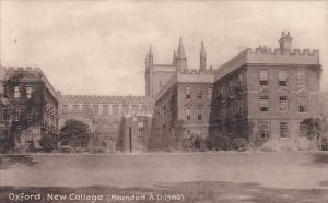 England Oxford New College