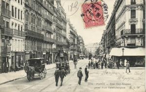 CPA Paris 5e (Dep. 75) - Rue Gay-Lussac prise Rue Saint-Jacques (65007)