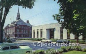 City Hall & Public Library Concord NH Unused