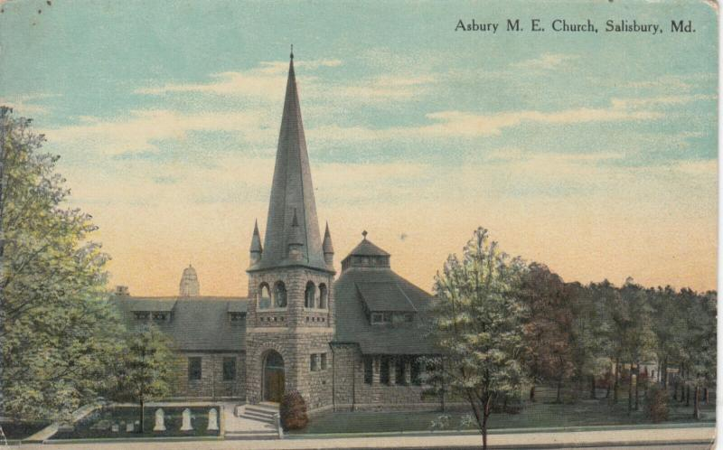 SALISBURY , Maryland , 1911 ; Asbury M. E. Church
