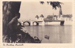 RP, Bridge, De Maasbrug, MAASTRICHT (Limburg), Netherlands, 1920-1940s