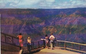 Hawaii Kauai Waimea Canyon 1964