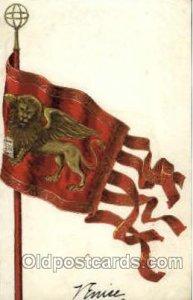 Venice Flag, Flags, Postcard Post Card Unused