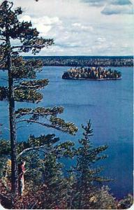 Forest & Lake by Chick's Fishing Camp Bob's Lake Maberley ON