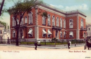 PRE-1907 NEW BEDFORD, MA FREE PUBLIC LIBRARY publ. by The Rhode Island News Co.