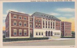 Students Union Building Univeristy Of Nebraska Lincoln Nebraska