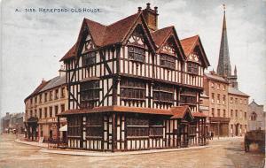 Hereford Old House Street Shops Strasse Cart