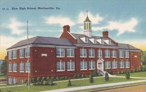 New High School Martinsville Virginia