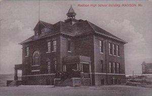 Maine Madison Madison High School Building