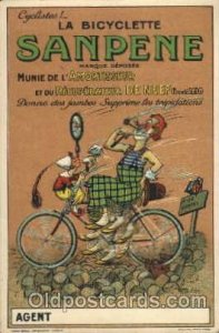 La Bicyclette Sanpene,  cycling postcard Post Card Unused