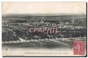 Mourmelon le Grand and Grand and Camp Chalons View Getting balloon